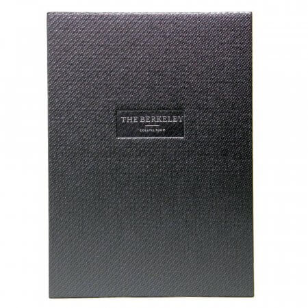 Carbon Guest Room Folder with Personalisation