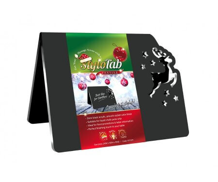 Reindeer Table Tent Sign