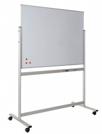 Mobile Whiteboard with Fixed Board