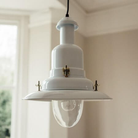 White Pendant Fishing Light