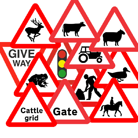 Reflective Road Signs