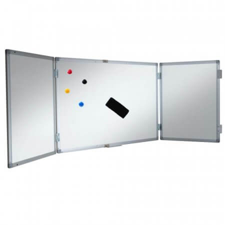 1800 x 1200mm Magnetic Confidential Whiteboard