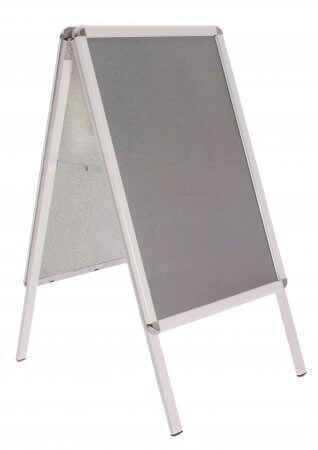 A2 White Snap Frame A-board