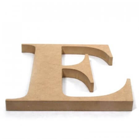 6mm MDF Cut Letters