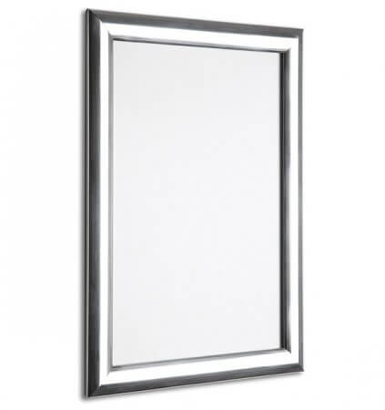 A2 Polished Silver Snap Poster Frame