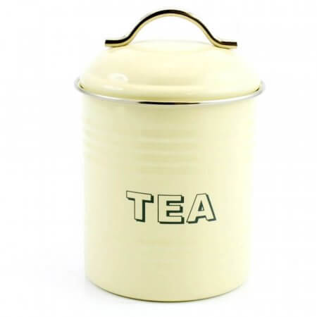 Cream Tea Canister