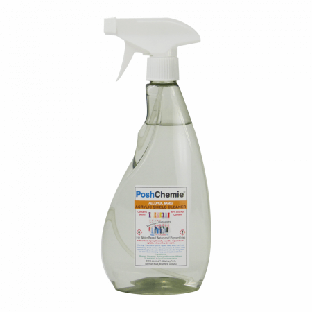 Alcohol Based Anti-Bacterial Acrylic Shield Cleaner