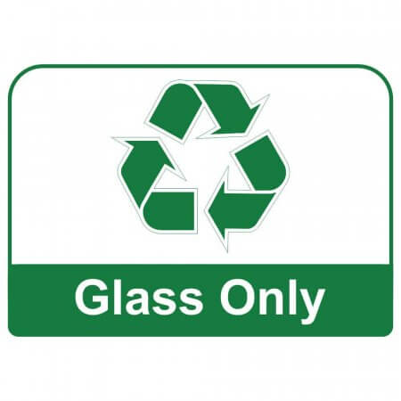 Recycling Sign - Glass Only