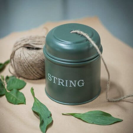 Thyme Green String Dispenser