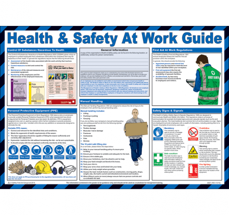 Health & Safety at Work Poster