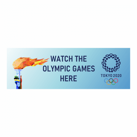 Watch Olympic Games Here Banner
