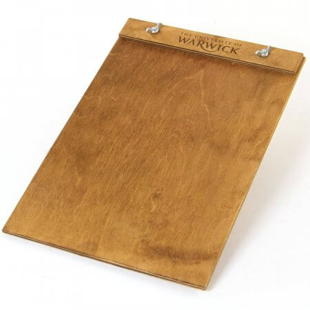 Light Oak Oak Oxford Wooden Menu Board