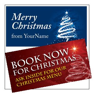 Christmas & New Year Banner Designs