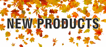 New products, new items, new additions, new range, brand new
