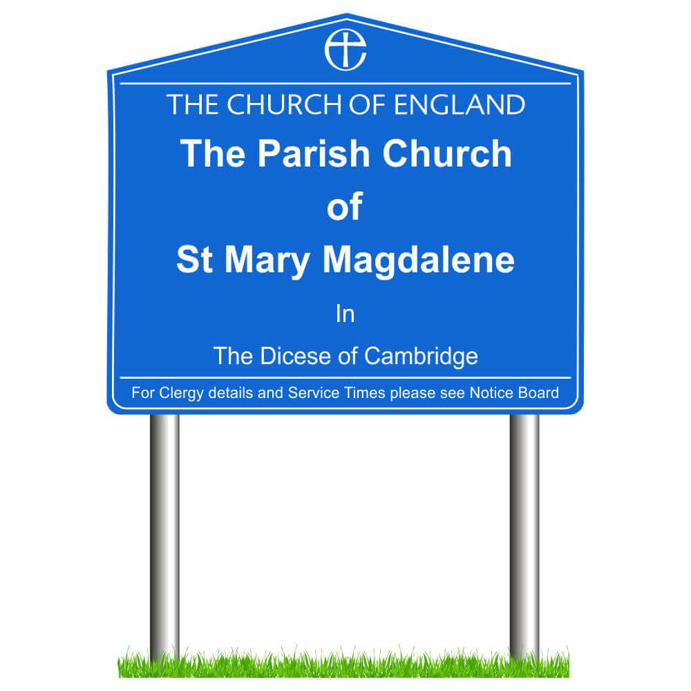 Post Mounted Church Signs